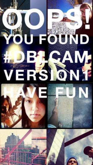 iPhone、iPadアプリ「Dblcam」のスクリーンショット 1枚目