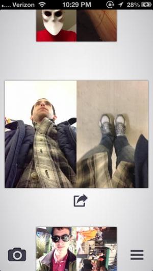 iPhone、iPadアプリ「Dblcam」のスクリーンショット 2枚目