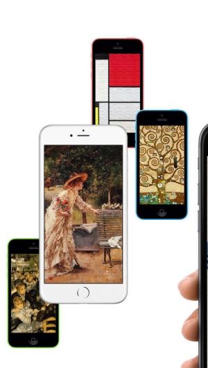 iPhone、iPadアプリ「ノートス アート(ART)の 壁紙」のスクリーンショット 4枚目