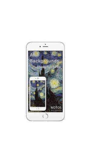 iPhone、iPadアプリ「ノートス アート(ART)の 壁紙」のスクリーンショット 3枚目