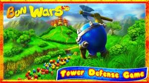 iPhone、iPadアプリ「Bun 戦争 HD: 戦争ゲーム アプリゲーム ゲーム げーむ」のスクリーンショット 1枚目