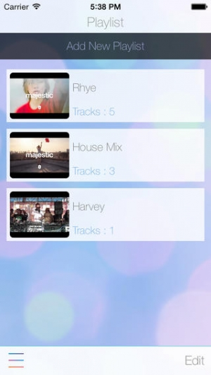 iPhone、iPadアプリ「UTuberPro - YouTube用の音楽連続再生プレーヤー」のスクリーンショット 3枚目