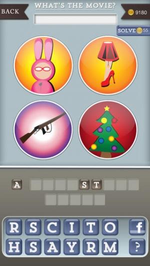 iPhone、iPadアプリ「Whats The Movie?」のスクリーンショット 1枚目