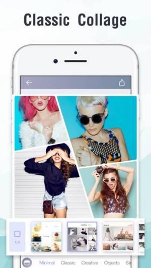 iPhone、iPadアプリ「InstaMag - Photo Collage Maker」のスクリーンショット 4枚目