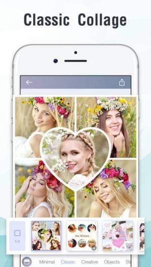 iPhone、iPadアプリ「InstaMag - Photo Collage Maker」のスクリーンショット 2枚目