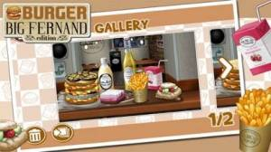 iPhone、iPadアプリ「バーガー - Big Fernand エディション」のスクリーンショット 2枚目