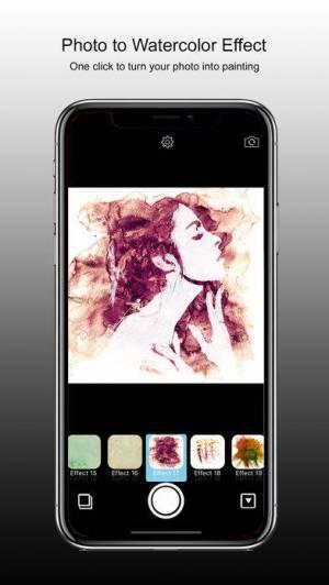 iPhone、iPadアプリ「PhotoJus Paint FX Pro」のスクリーンショット 1枚目