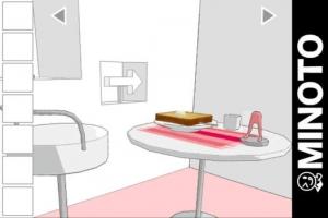 iPhone、iPadアプリ「朝食の脱出ゲーム」のスクリーンショット 1枚目
