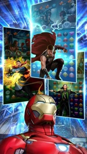 iPhone、iPadアプリ「マーベル・パズルクエスト:  マッチ3パズルヒーローRPG」のスクリーンショット 5枚目