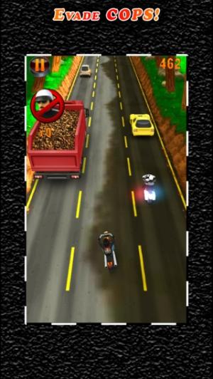 iPhone、iPadアプリ「Deadly Moto Racing」のスクリーンショット 3枚目