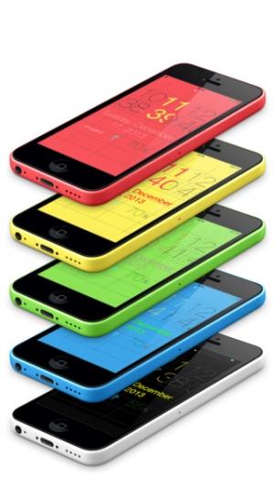 iPhone、iPadアプリ「ScrollClock」のスクリーンショット 3枚目