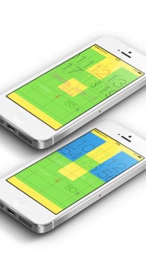 iPhone、iPadアプリ「ScrollClock」のスクリーンショット 2枚目