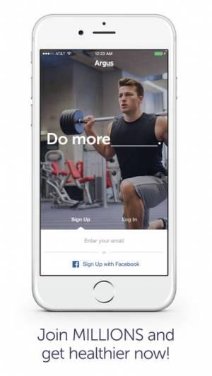 iPhone、iPadアプリ「Argus 自動歩数計」のスクリーンショット 5枚目