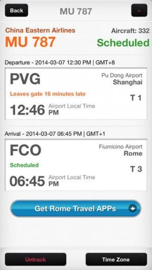 iPhone、iPadアプリ「World Flight Pro」のスクリーンショット 4枚目