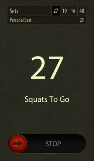 iPhone、iPadアプリ「Street Workout Squats Challenge - Exercise Fitness Workout for Legs & Butt」のスクリーンショット 5枚目