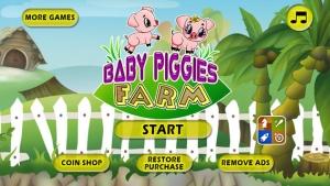 iPhone、iPadアプリ「A Baby Piggies Bad Day at the Farm FREE」のスクリーンショット 1枚目