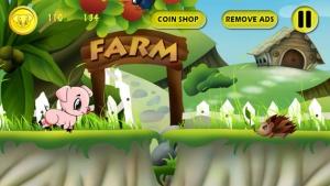 iPhone、iPadアプリ「A Baby Piggies Bad Day at the Farm FREE」のスクリーンショット 3枚目