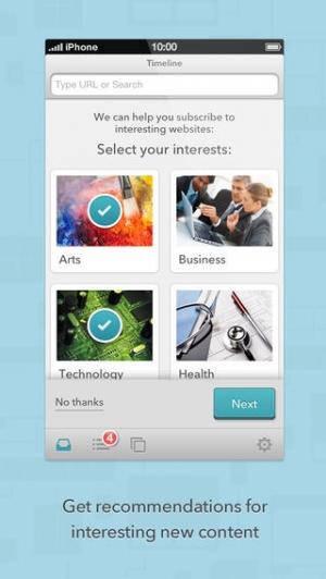 iPhone、iPadアプリ「Brow.si」のスクリーンショット 3枚目