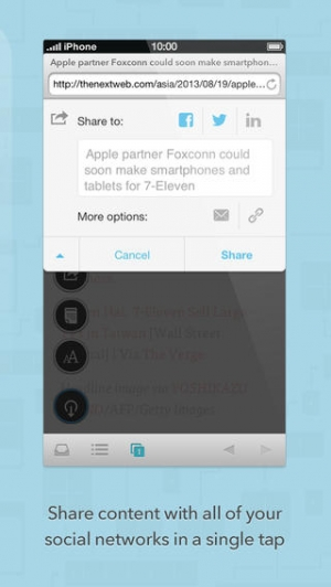 iPhone、iPadアプリ「Brow.si」のスクリーンショット 5枚目