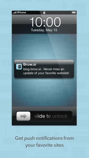 iPhone、iPadアプリ「Brow.si」のスクリーンショット 2枚目