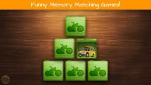 iPhone、iPadアプリ「幼児向けパズル - 子供用の車、トラック、オートバイ, 車」のスクリーンショット 2枚目