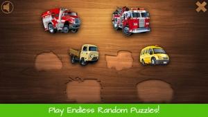 iPhone、iPadアプリ「幼児向けパズル - 子供用の車、トラック、オートバイ, 車」のスクリーンショット 5枚目