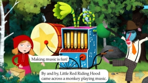 iPhone、iPadアプリ「Little Red Riding Hood by Nosy Crow」のスクリーンショット 3枚目