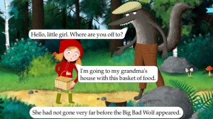 iPhone、iPadアプリ「Little Red Riding Hood by Nosy Crow」のスクリーンショット 1枚目