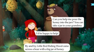 iPhone、iPadアプリ「Little Red Riding Hood by Nosy Crow」のスクリーンショット 4枚目