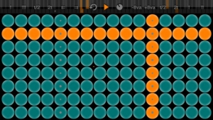 iPhone、iPadアプリ「Arpeggionome for iPhone - A New Musical Instrument」のスクリーンショット 1枚目