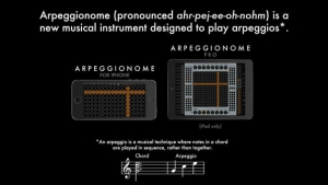 iPhone、iPadアプリ「Arpeggionome for iPhone - A New Musical Instrument」のスクリーンショット 2枚目