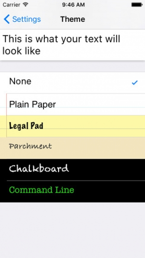 iPhone、iPadアプリ「TextPad」のスクリーンショット 2枚目
