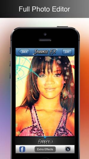 iPhone、iPadアプリ「Sparkle FX」のスクリーンショット 2枚目