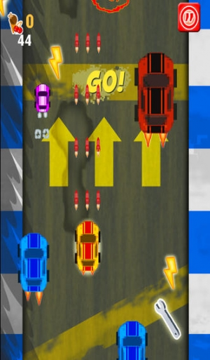 iPhone、iPadアプリ「A Sonic Speed Dash - Crazy Micro Speedway Race - Free Racing Game」のスクリーンショット 2枚目