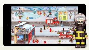iPhone、iPadアプリ「ちっちゃな消防士さん」のスクリーンショット 4枚目