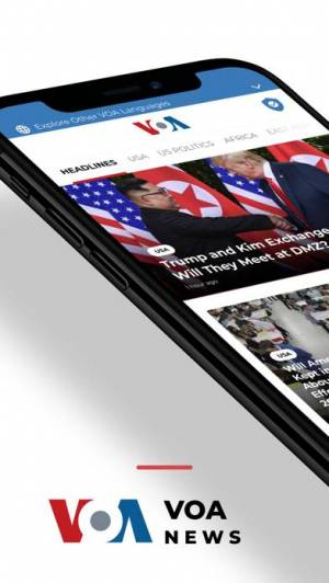 iPhone、iPadアプリ「VOA」のスクリーンショット 1枚目