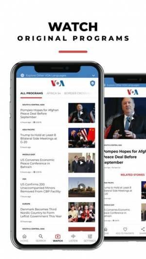 iPhone、iPadアプリ「VOA」のスクリーンショット 3枚目