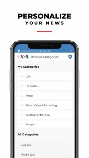 iPhone、iPadアプリ「VOA」のスクリーンショット 5枚目