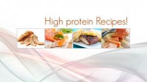 iPhone、iPadアプリ「高タンパク質レシピ」のスクリーンショット 1枚目