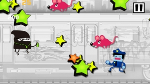 iPhone、iPadアプリ「A Subway Police Chase Run Racing - Free Game」のスクリーンショット 5枚目