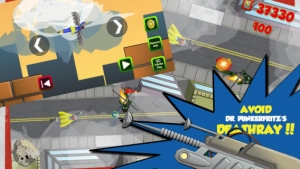 iPhone、iPadアプリ「スチールのフライングヒーロー (Flying Superheroes of Steel)」のスクリーンショット 3枚目