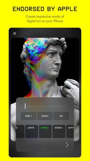 iPhone、iPadアプリ「Glitché」のスクリーンショット 2枚目