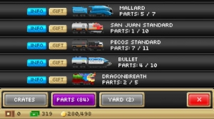 iPhone、iPadアプリ「Pocket Trains - Railroad Empire Building」のスクリーンショット 4枚目