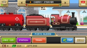 iPhone、iPadアプリ「Pocket Trains - Railroad Empire Building」のスクリーンショット 1枚目