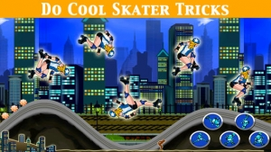 iPhone、iPadアプリ「A Roller Derby Candy Dash - Free Downhill Racing Game」のスクリーンショット 5枚目