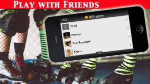 iPhone、iPadアプリ「A Roller Derby Candy Dash - Free Downhill Racing Game」のスクリーンショット 4枚目