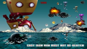 iPhone、iPadアプリ「Cast Iron Robot Wars - Iron Man Shooting Edition」のスクリーンショット 4枚目