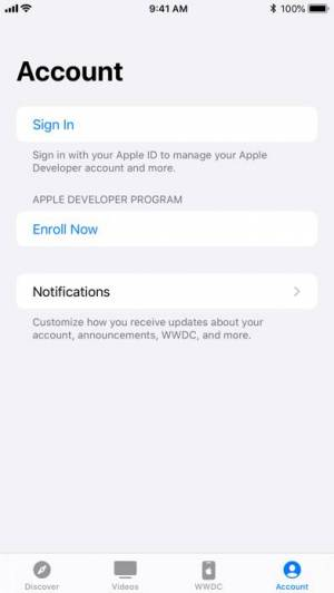 iPhone、iPadアプリ「Apple Developer」のスクリーンショット 5枚目