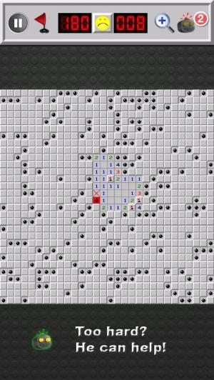 iPhone、iPadアプリ「マインスイーパ Minesweeper Deluxe」のスクリーンショット 4枚目