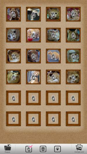 iPhone、iPadアプリ「壁紙写真立て」のスクリーンショット 3枚目